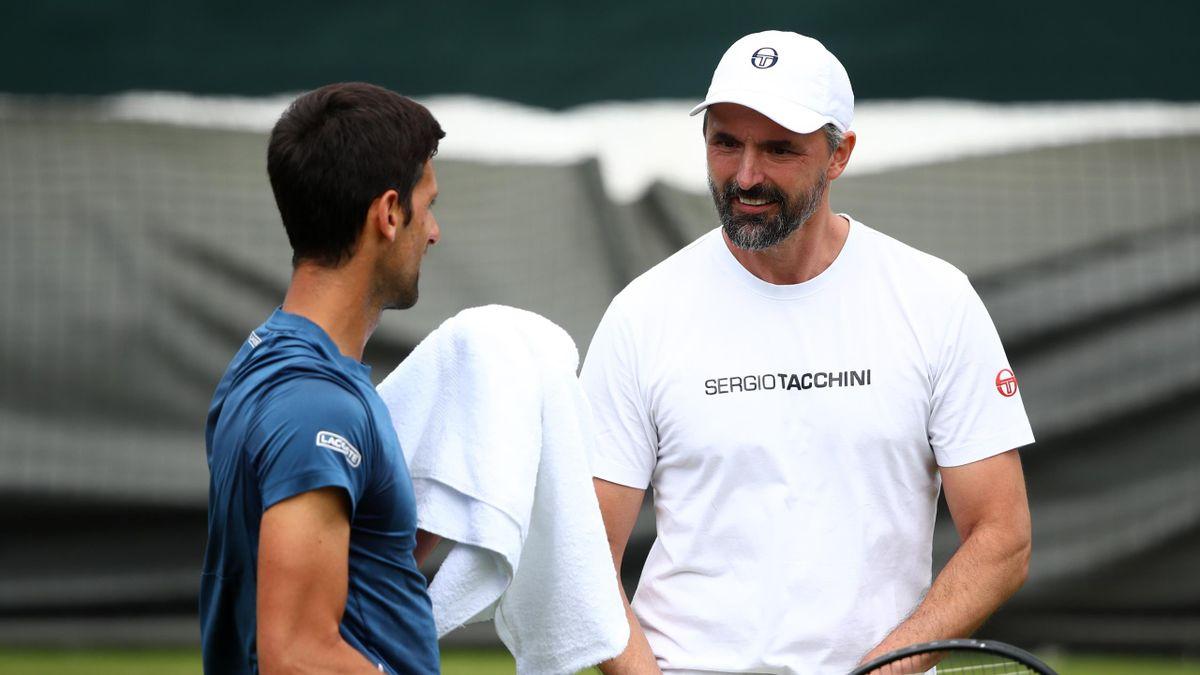 HLV Goran Ivanisevic cho rằng không một ai có thể cản bước được Djokovic