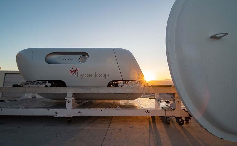 Tàu siêu tốc Hyperloop của công ty Virgin Hyperloop