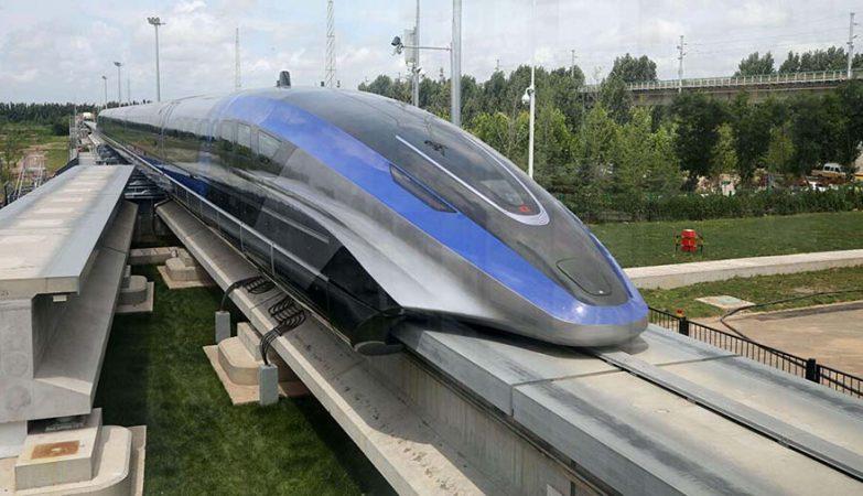 Trung quốc ra mắt tàu đệm từ trường mới